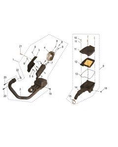 RS125 (03) Air Box/Exhaust