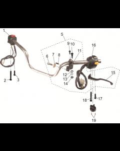 SC125 (05) Handlebar/Switches