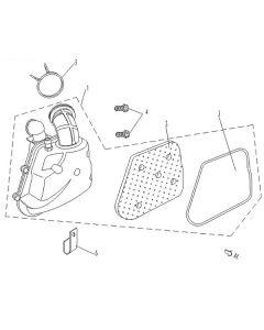 Sinnis Phoenix 50 (C07) Air Box