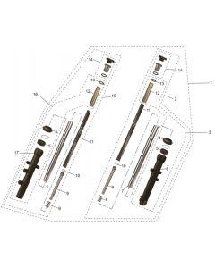 RS125 (10) Forks