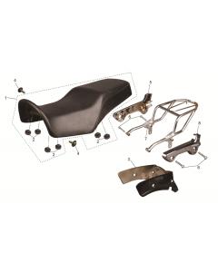 SC125 (11) Seat/Rack