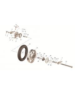 SC125 (13) Rear Wheel