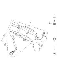 Sinnis Phoenix 50 (C20) Speedometer