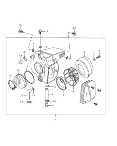 Sinnis Blade X 125 (EFI) (C10) Air Box