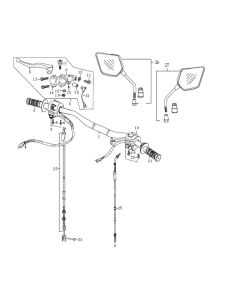 Sinnis Apache SMR 125 (EFI) (C10) Handlebars