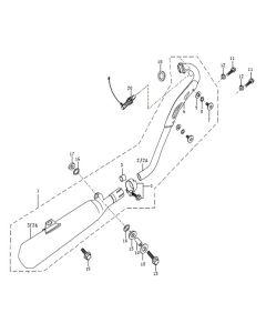 Sinnis Blade X 125 (EFI) (C11) Exhaust