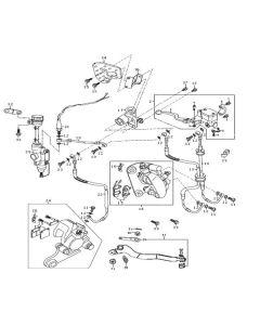 Sinnis Apache SMR 125 (EFI) (C11) Brakes