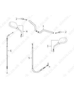 Max 2 125 (C12) Handle Bars