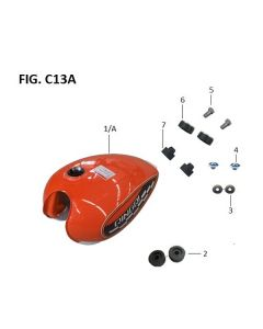 Retrostar 125 (C13) Fuel Tank
