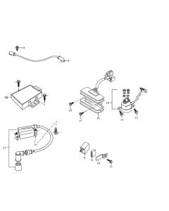 Sinnis Apache 125 (Non-EFI) (C14) Electrical
