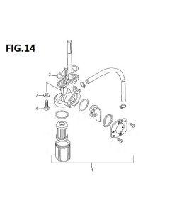 Trackstar 125 (C14) Fuel Tap