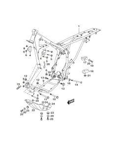 Sinnis Blade X 125 (EFI) (C01) Frame