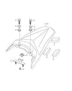 Sinnis Blade X 125 (EFI) (C22) Tail Panel