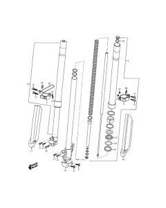 Sinnis Apache SMR 125 (EFI) (C23) Front Forks