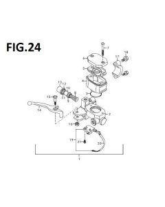 Trackstar 125 (C24) Front Brake Master Cylinder