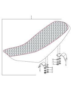 Sinnis Blade 125 (Non-EFI) (C25) Seat