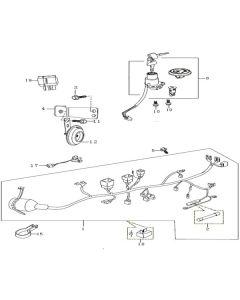 Sinnis Apache SMR 125 (EFI) (C04) Wiring Harness