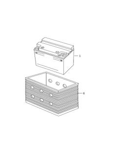 Sinnis Apache SMR 125 (EFI) (C05) Battery