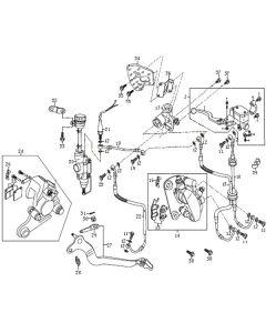 Sinnis Blade X 125 (EFI) (C05) Brakes