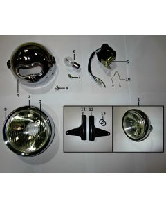 Cafe 125 (C06) Headlight