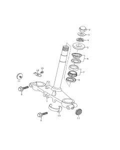 Sinnis Blade 125 (Non-EFI) (C07) Steering Stem
