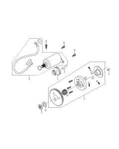 P152QMI (E10) Starter Motor