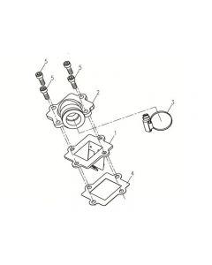 1PE40QMB (E11) Manifold