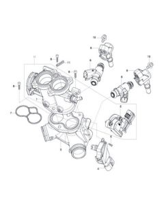 GV125 (E11) Throttle Body