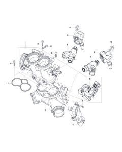 GV125 (E11) Throttle Body