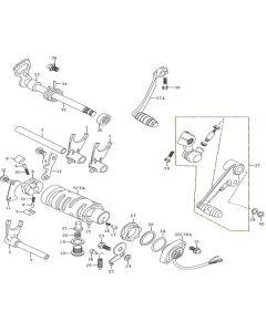 K157FMI-E (E12) Gear Selector