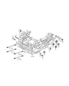 P152QMI (E15) Crankcase