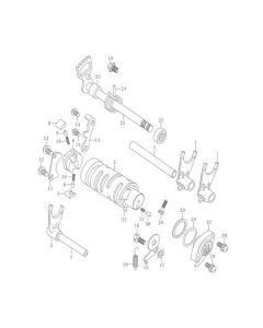 GV125 (E17) Gear Shifting