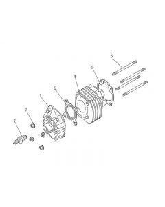 1PE40QMB (E02) Cylinder