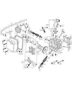 139QMB-E (E2) Cylinder Head