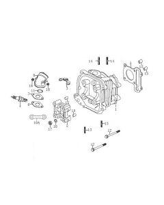 P152QMI (E03) Cylinder Head