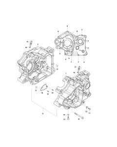 GV125 (E04) Crankcase