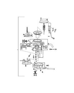 139QMB (E05) Carburettor