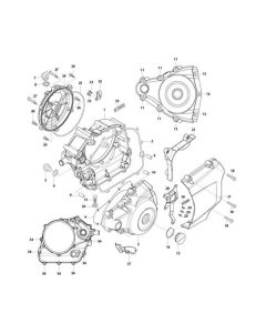 GV125 (E05) Crankcase Covers