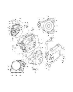 GV125 (E05) Crankcase Covers