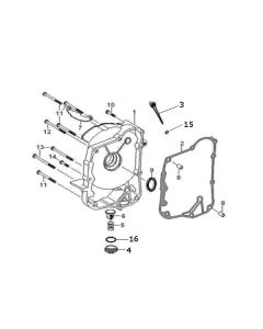 GY6A-E (E06) Right Outer Crank Case