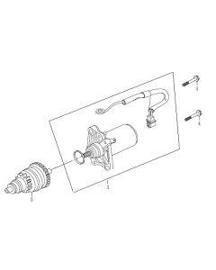 139QMB (E07) Starter Motor