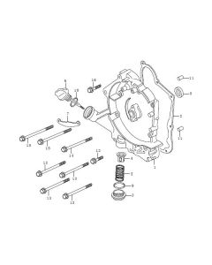P152QMI (E07) Right Crankcase Cover