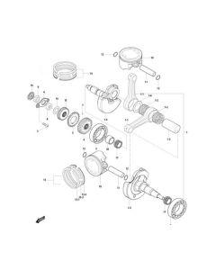 GV125 (E07) Crankshaft