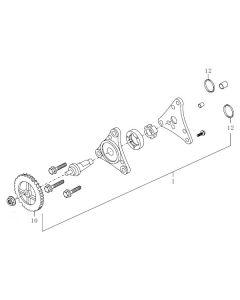 139QMB (E08) Oil Pump