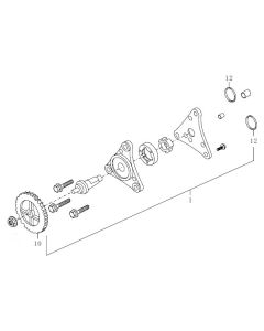 139QMB-E (E8) Oil Pump