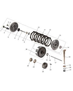 JS154FMI (08) Clutch Basket