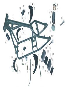 Heist 125 (F10) Frame