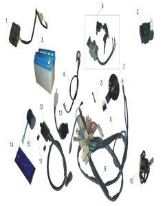 Heist 125 (F11) Electricals
