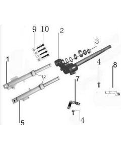 Sinnis Jet 2 (F12) Front Forks