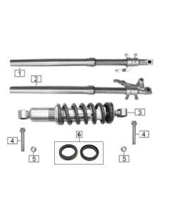 Sinnis Akuma 125 (Z12) Front Forks/Rear Shock